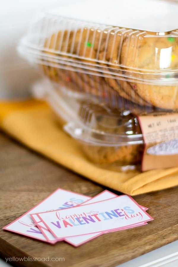 Free Valentine's Treat Tags and Cookies
