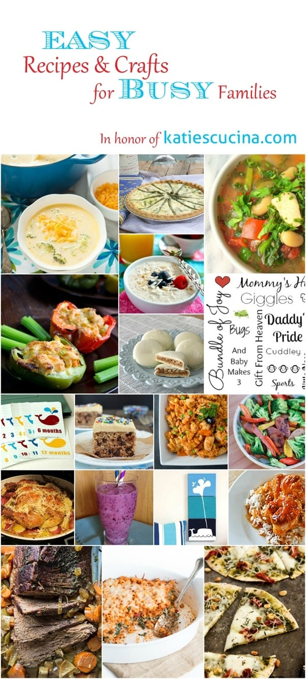 Easy recipes and crafts for BUSY families!