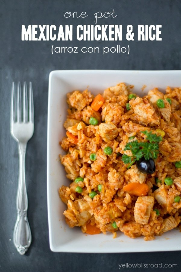 One Pot Mexican Chicken and Rice 2