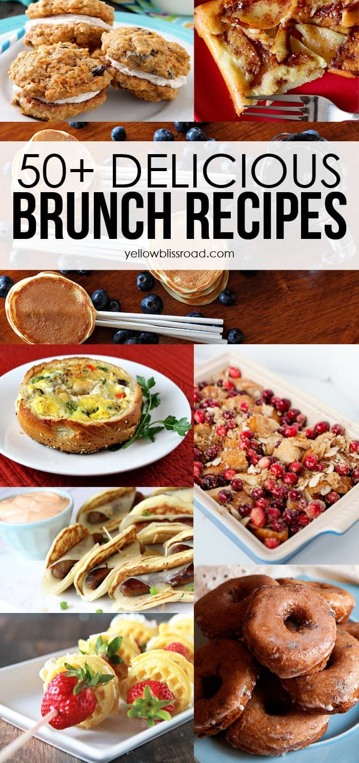 50 of the very best recipes for weekend or easter brunch