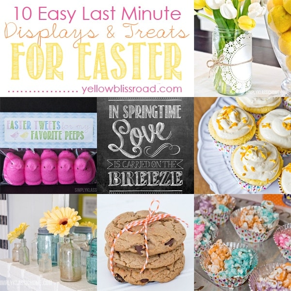 Ten Easy Ideas for Easter