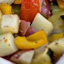 Roasted Vegetables with Rosemary and Garlic