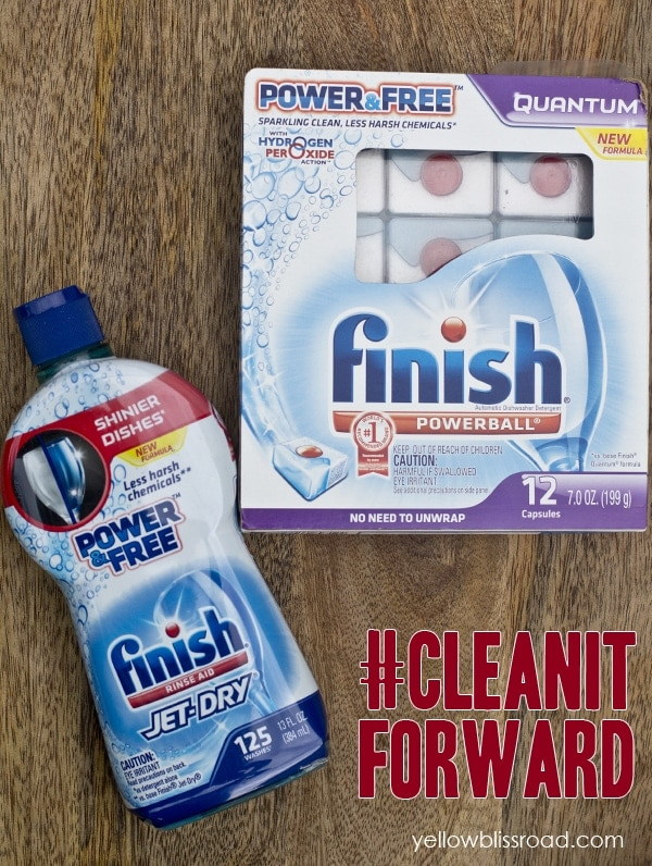 finish clean it forward