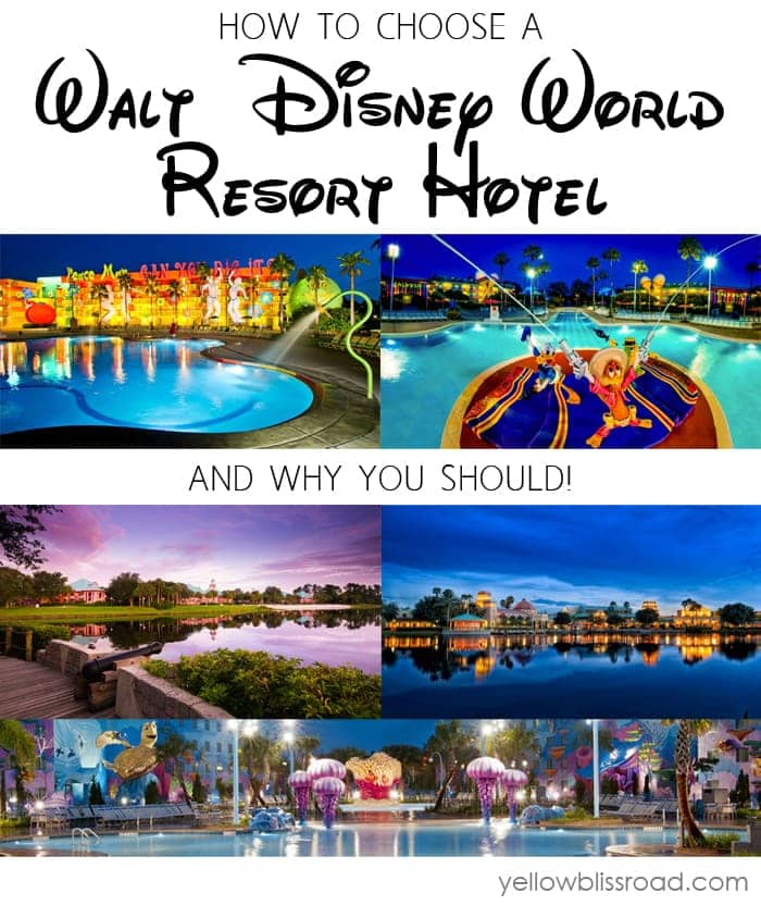 How to choose a Disney World Resort Hotel - and why you should!
