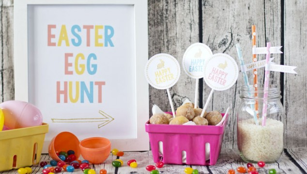 Free Printable Easter Party Pack
