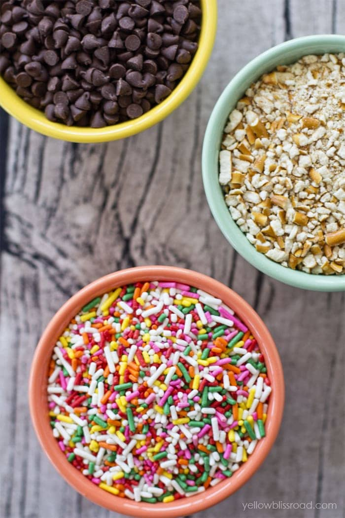 Ice Cream Sundae Toppings