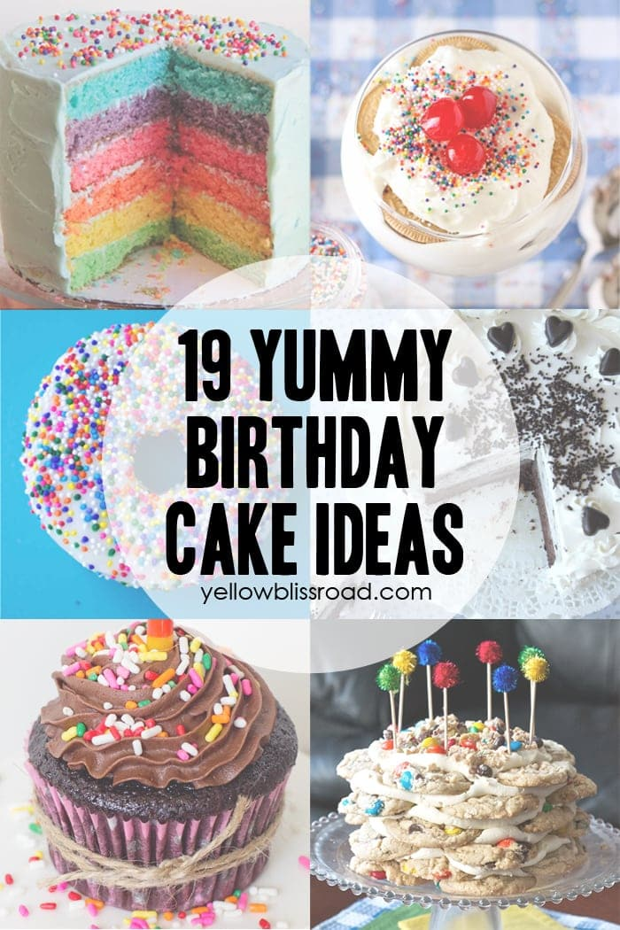 37 Birthday Printables Amp Cakes And A Giveaway Yellow