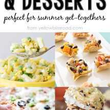 25 Barbecue Friendly Side Dishes & Desserts
