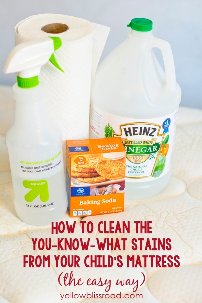 How to Clean Urine Stains from a Mattress