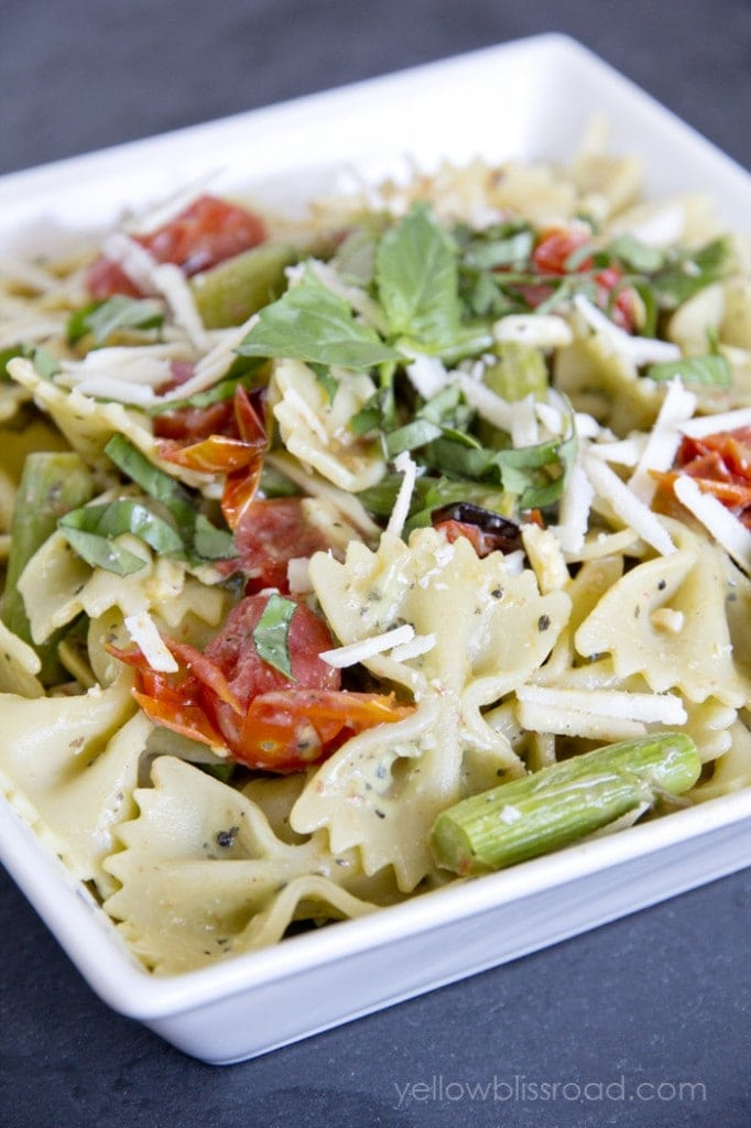 Pasta Salad from Yellow Bliss Road