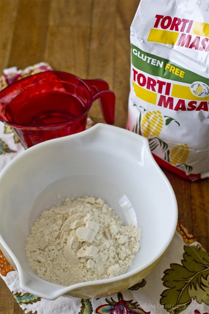 Ingredients for Mexican Sopes