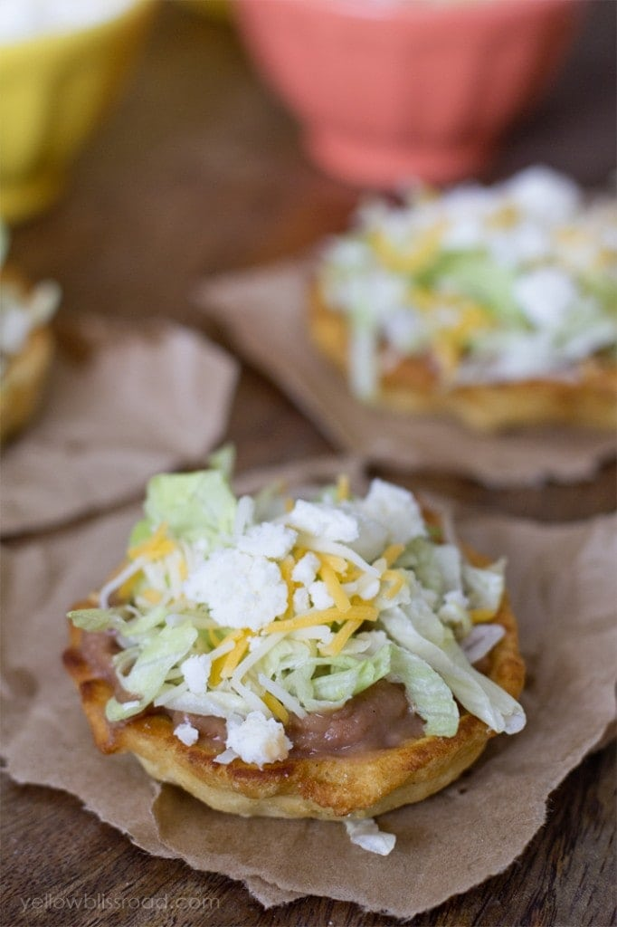 Traditional Mexican Sopes for Cinco de Mayo