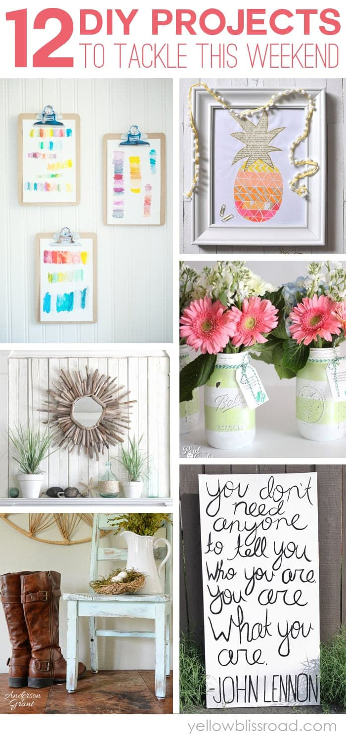 12 Weekend DIY Projects