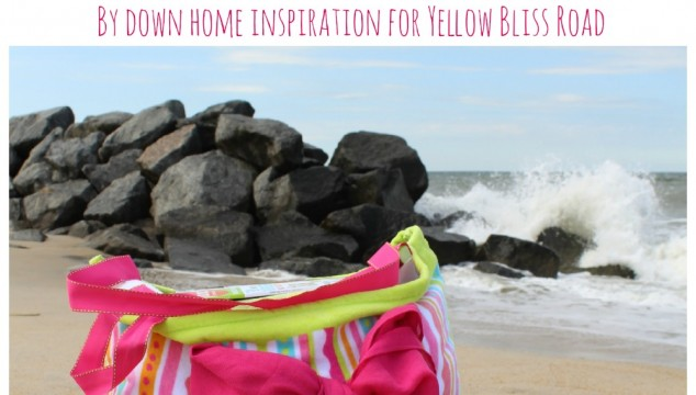 How to Make a Towel Beach Bag