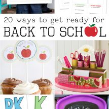 How to Get Ready for the First Day of School
