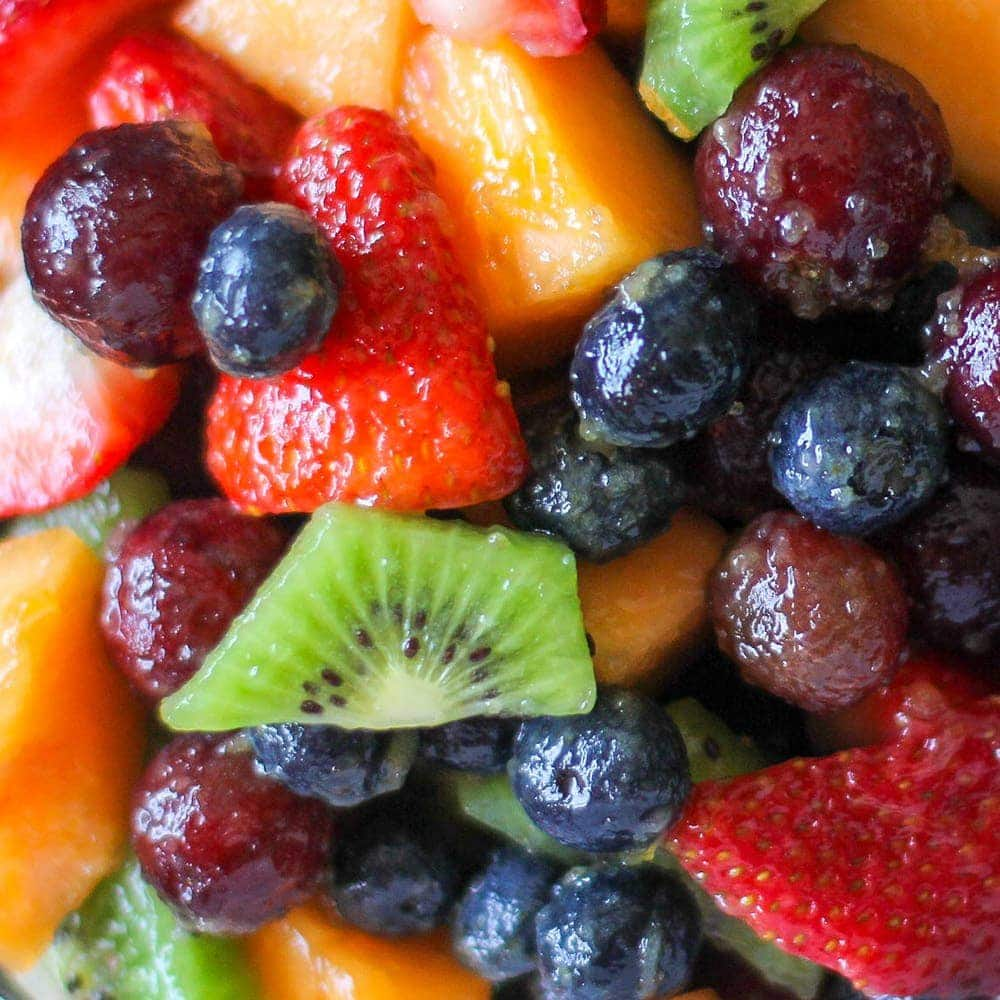 Fruit Salad Recipe With An Easy Fruit Salad Dressing