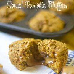 Social media image of Spiced Pumpkin Muffins