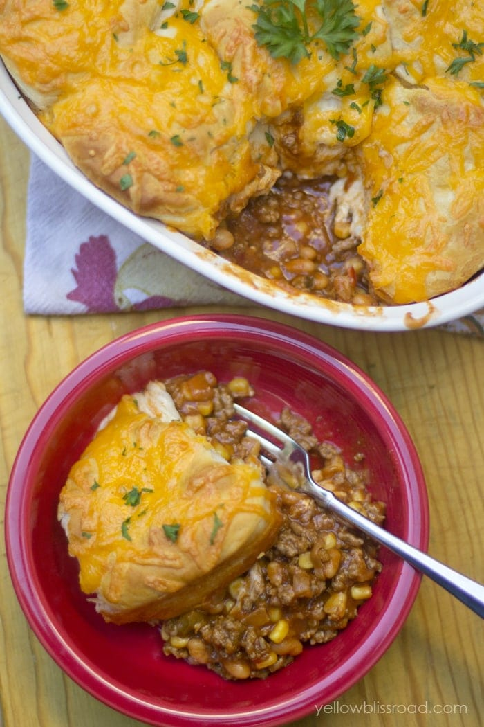 Sloppy Joe Biscuit Bake & A Giveaway!