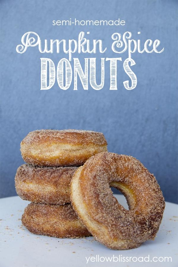 Social media image of Pumpkin Spice Donuts