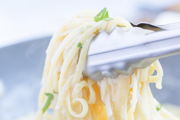 One Pan Garlic Parmesan Pasta