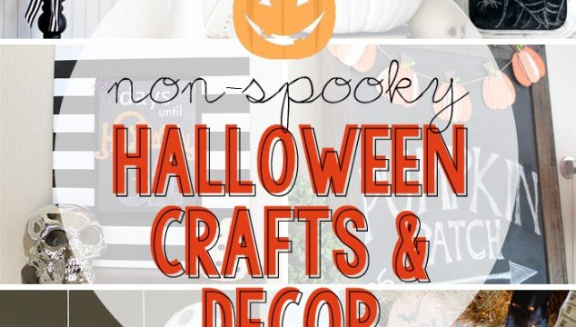 Non-Spooky Halloween Crafts and Decor