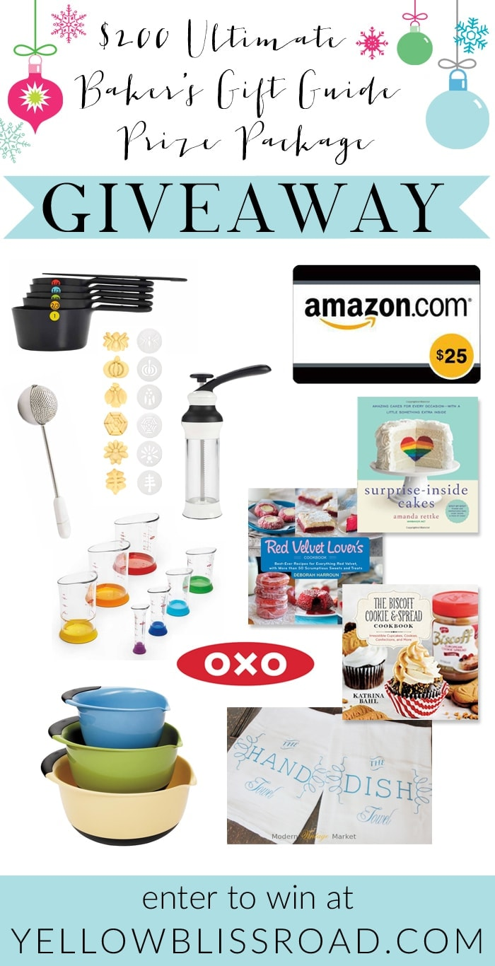 $200 Ultimate Baker's Gift Guide Giveaway