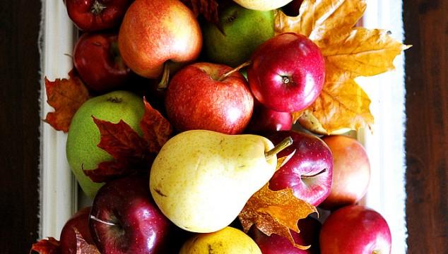 Fresh Fruit Fall Centerpiece