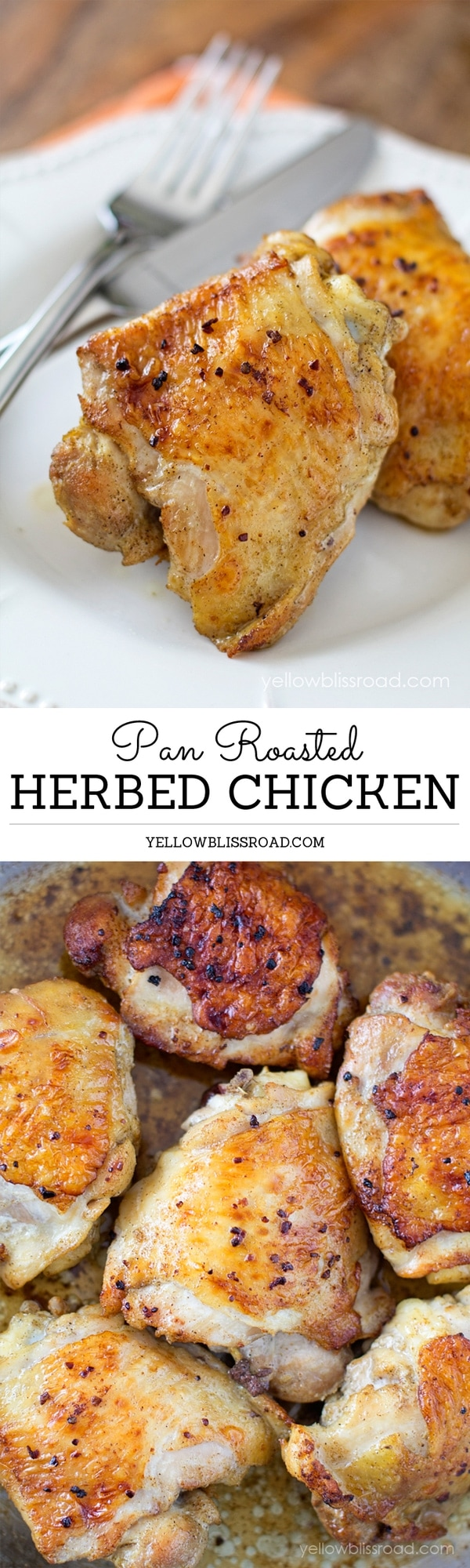Pan Roasted Herbed Ckicken