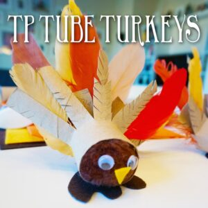 Thanksgiving Craft Toilet Paper Tube Turkey