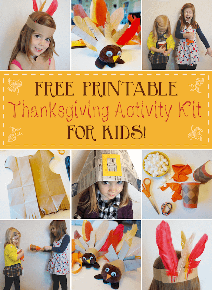 Free Printable Thanksgiving Activities for Kids