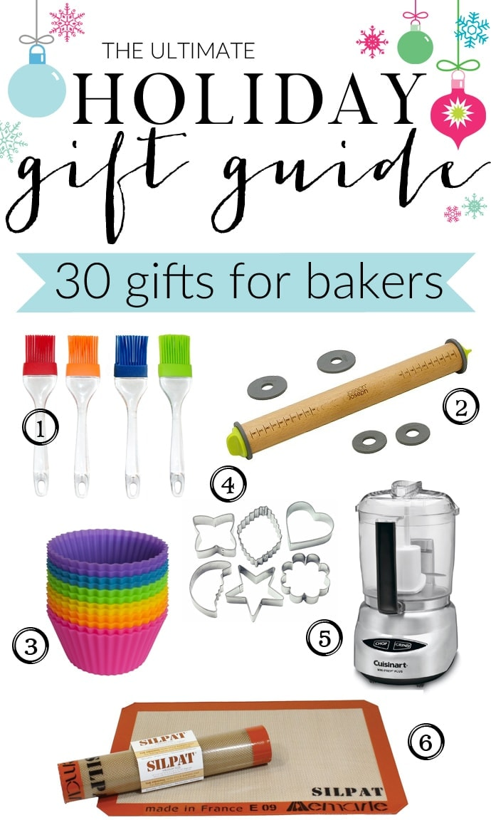 The Ultimate Holiday Gift Guide for Bakers with gifts for eveyone and every budget! 3