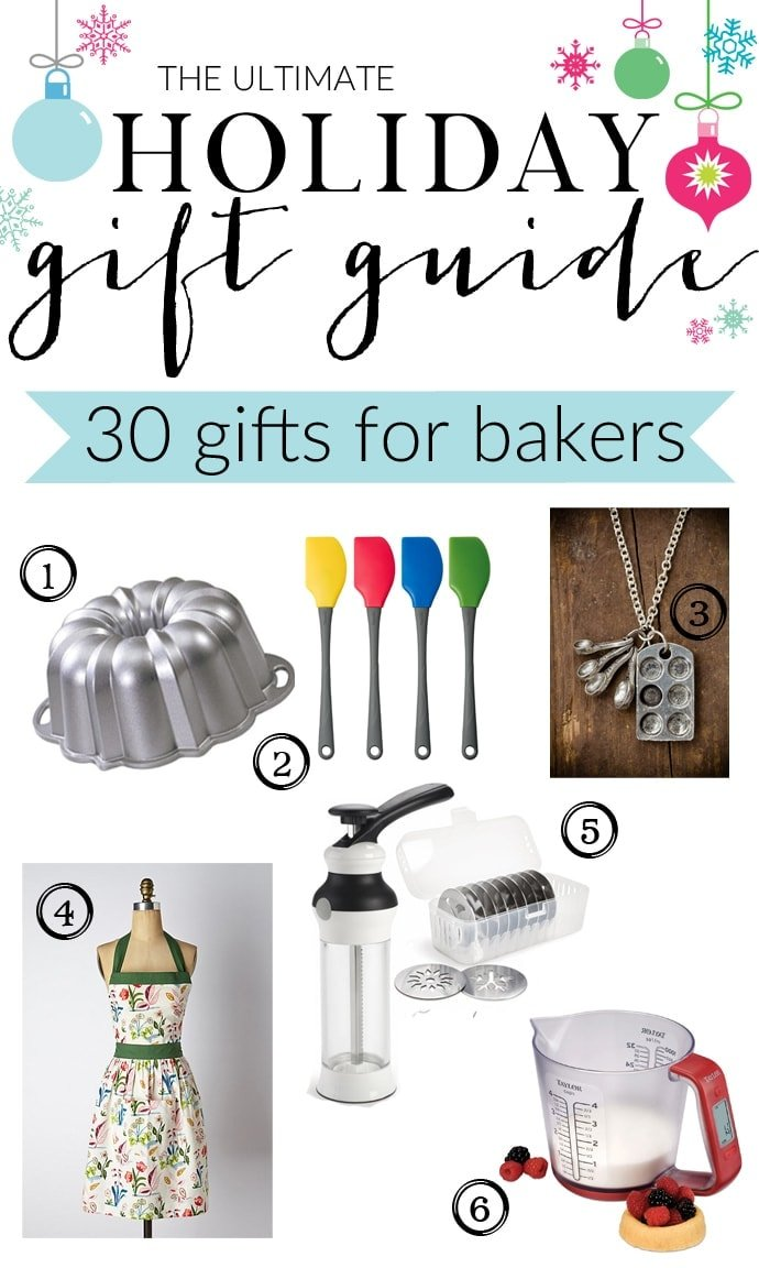 The Ultimate Holiday Gift Guide for Bakers with gifts for eveyone and every budget! 4