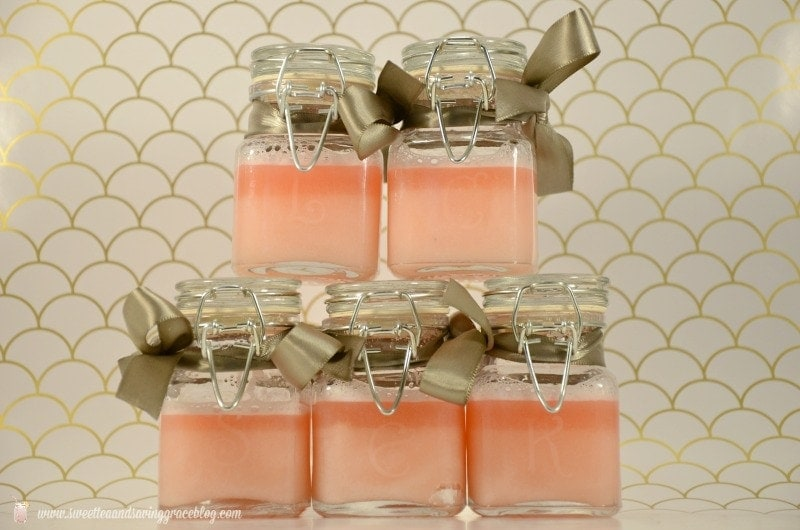 Handmade Gift Idea: Glass Etched Sugar Hand Scrub