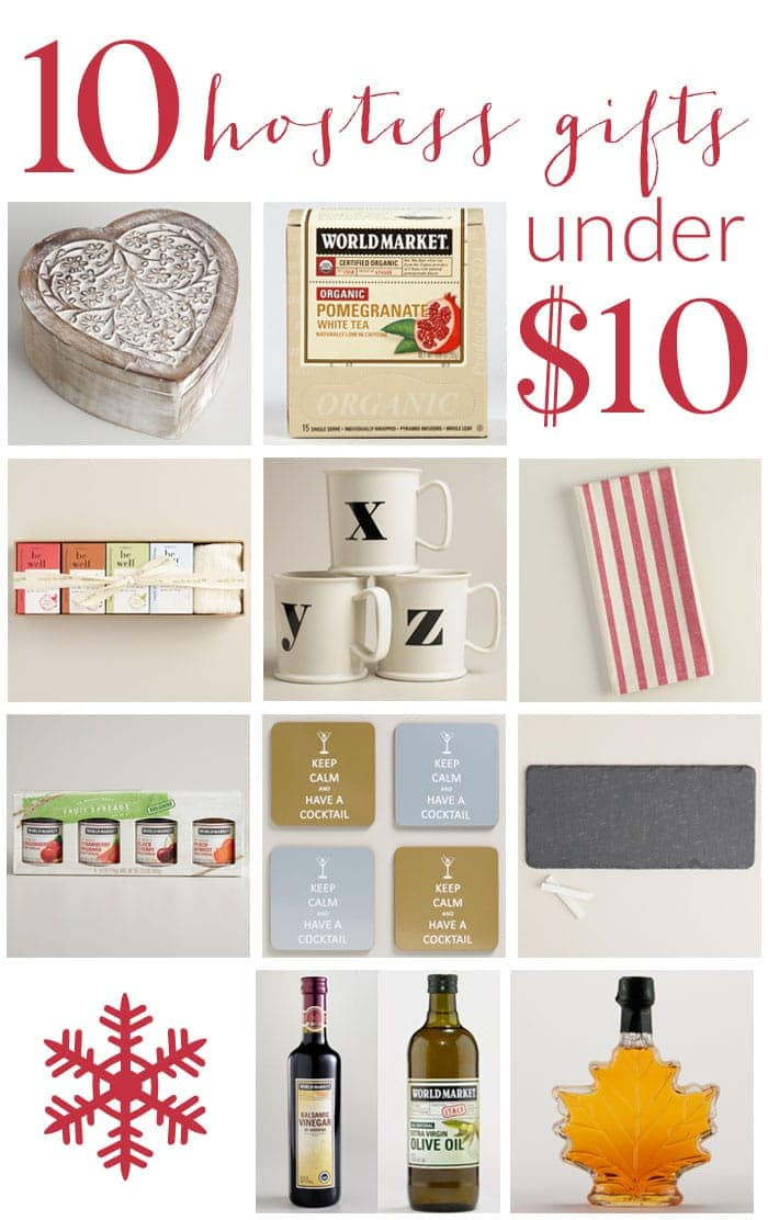 10 Hostess Gifts That Cost Under