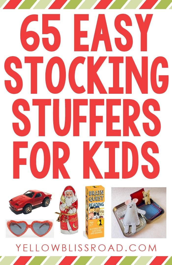 65 Easy Stocking Stuffer Ideas for Kids