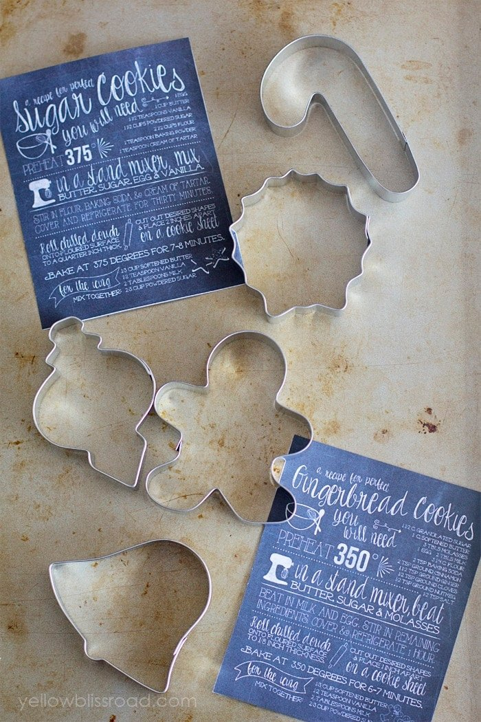 Metal Christmas Cookie Cutters