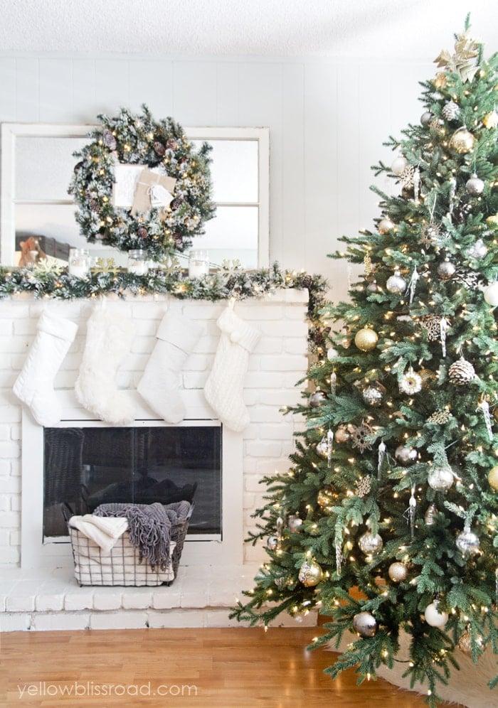Martha Stewart Pre Lit Christmas Trees