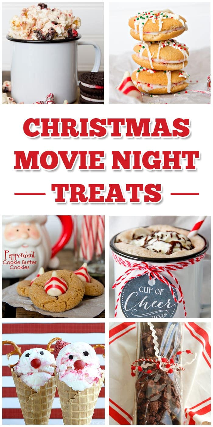 Christmas Movie Night Treats