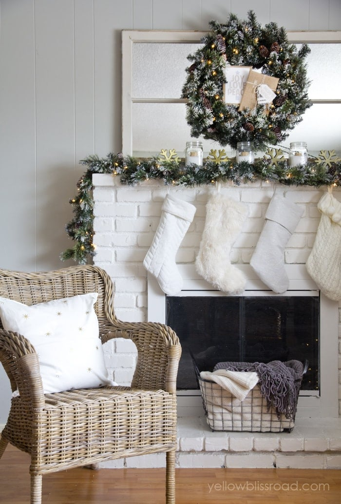 Christmas mantel daylight2