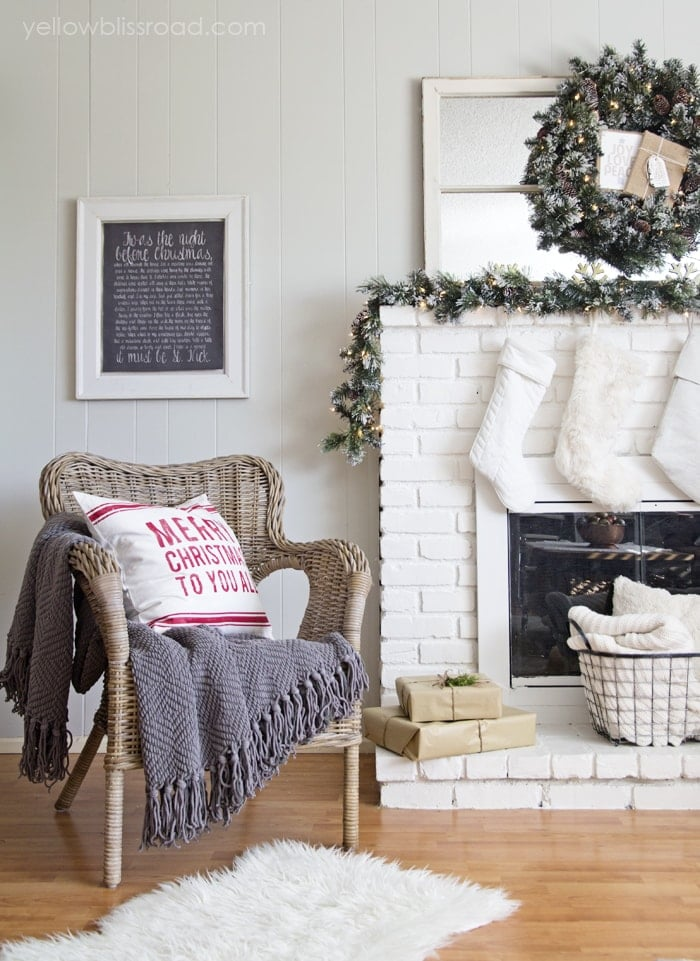 Cozy Fireplace seat