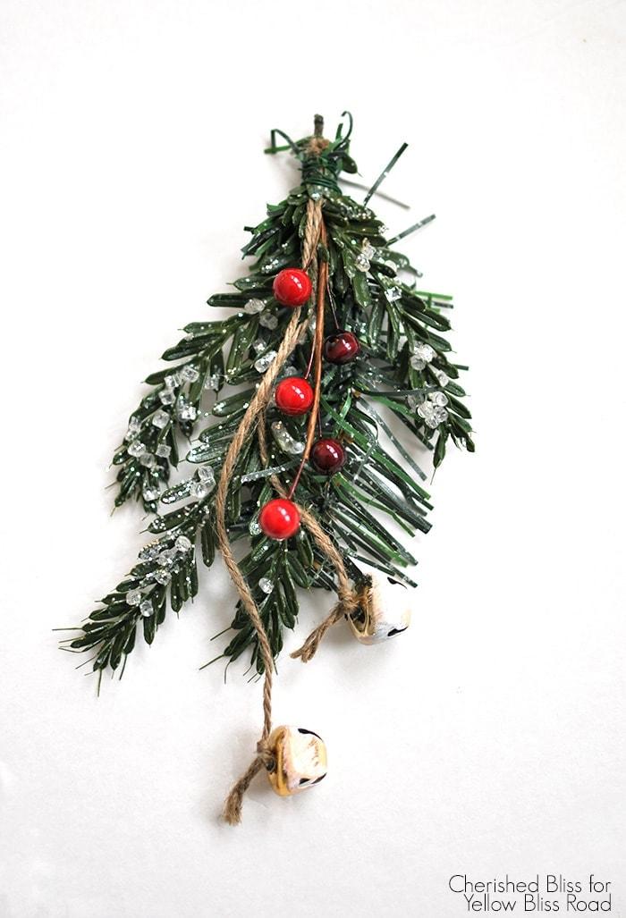 Stocking Christmas Swag Tutorial