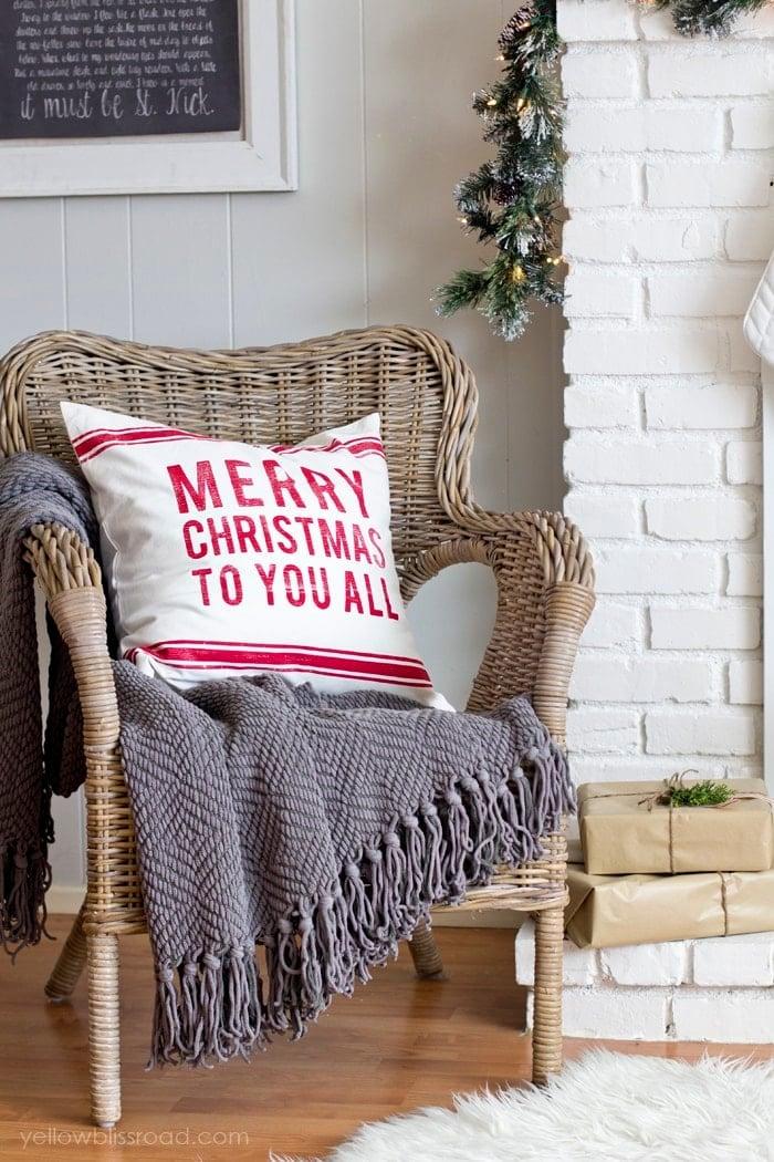 Ikea ratan chair