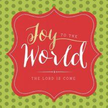 Christmas Printable: Joy to the World