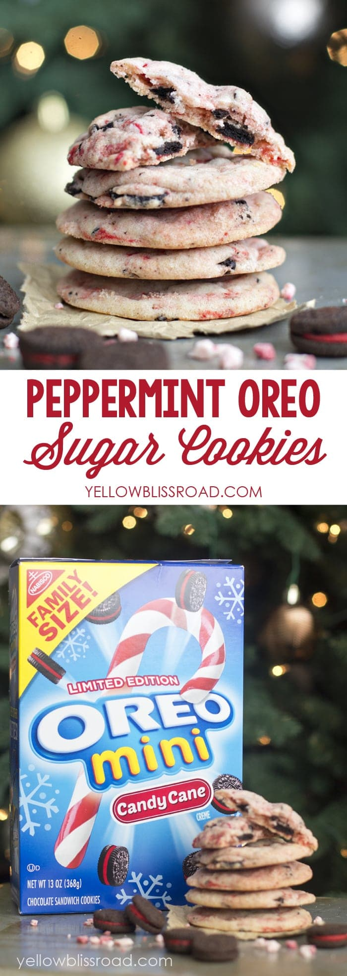 Peppermint Sugar Cookies   A perfect Christmas cookie!