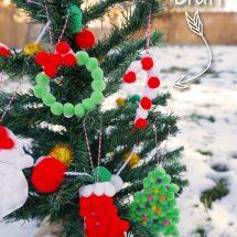 DIY Christmas Ornaments for Kids with Free Printable