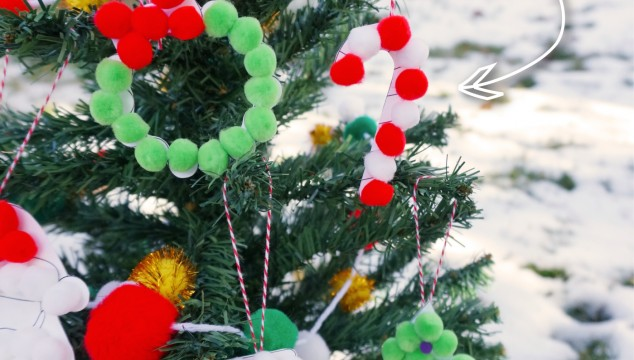 DIY Christmas Ornaments for Kids with Free Printable