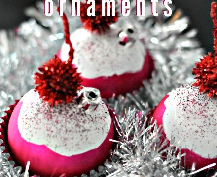 Handmade Christmas Gift Idea: Cupcake Ornaments