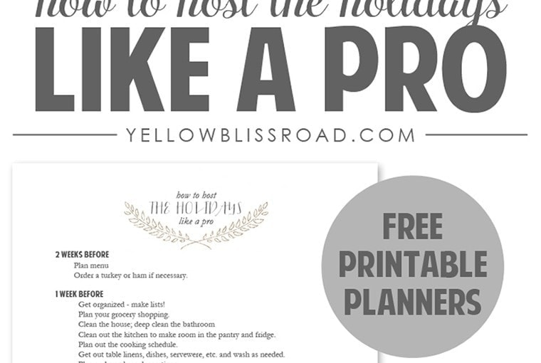 How to Host the Holidays Like a Pro