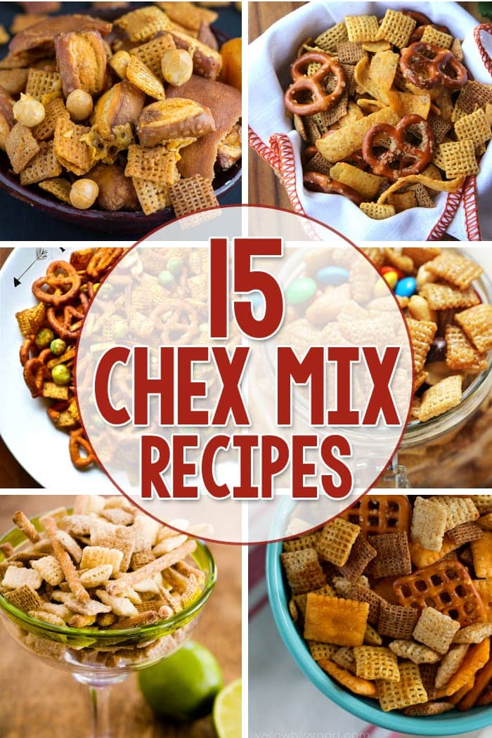 15 Yummy Chex Mix Recipes