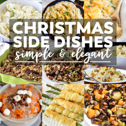 35 Side Dishes for Christmas Dinner